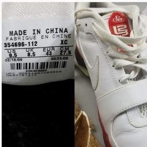 Nike Shoes - 09 Lebron James Signature Varsity 6 White Sneakers
